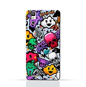 AMC Design Oppo A53 Mobile Protective Case with Bizarre Characters Design - Multi Color