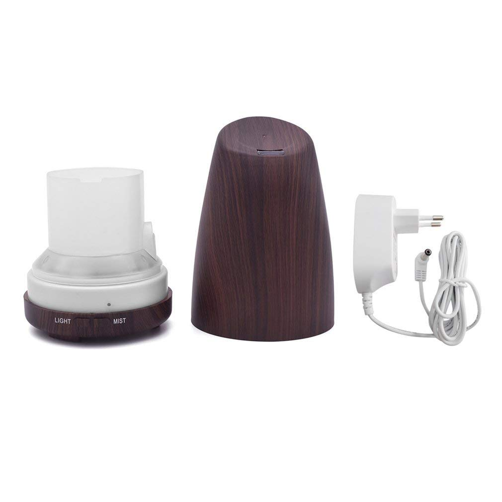 A Aroma Essential Oil Diffuser, Inclined Mouth, Air Humidifier, with Colorful LED Lights, Mist Maker, for Office Home Inclined Mouth Air Humidifier Essential Oil Diffuser with Colorful LED Lights