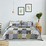 Bedsure 3-Piece Quilt Set Coverlet Queen/Full