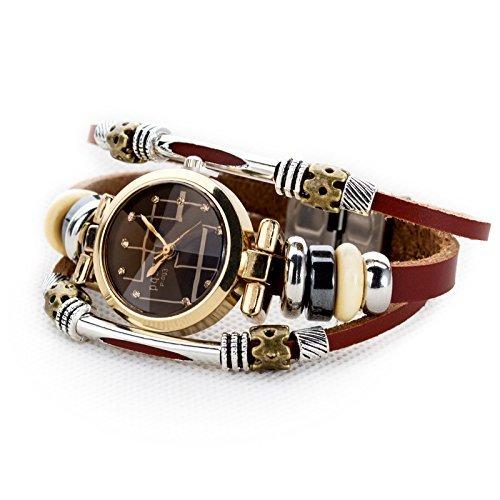 Womens Ladys Bracelet Leather Fashion product image