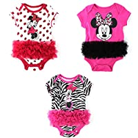 Minnie Mouse Baby Bodysuit with Tulle Ruffle