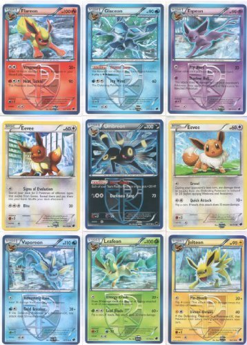 All Eevee Evolutions: ...
