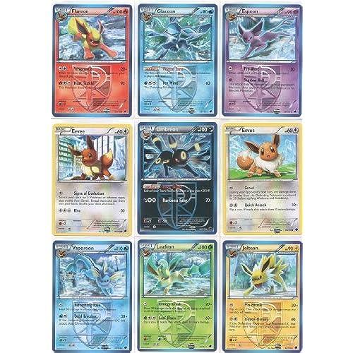 Team Plasma Eeveelutions Master Set 9 Pokemon Cards Ft Umbreon Glaceon Leafeon Flareon Jolteon Espeon Vaporeon And Eevee From Freeze