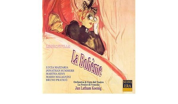 Leoncavallo: La Boheme by Orchestra & Coro Del Teatro La