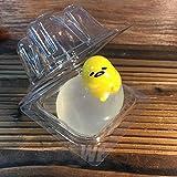 Japaness Sanrio Gudetama Lazy Egg Limp Pinch Mascot Clear Kawaii Vent Toy Gifts