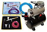 Paasche TG-SET Talon Airbrushing System with the Master TC-20T Air Compressor...