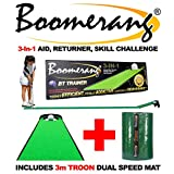 BOOMERANG MASTERSTROKE + 10ft Troon Mat - FIX YOUR PUTTING FAST
