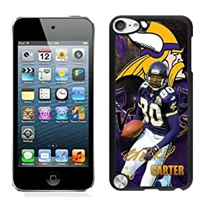 NFL&Minnesota Vikings Cris Carter iPod Touch 5 Case Gift Holiday Christmas Gifts cell phone cases clear phone cases protectivefashion cell phone cases HLNB605584084