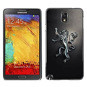 GagaDesign Phone Accessories: Hard Case Cover for Samsung Galaxy Note 3 - Royal Lion Crest