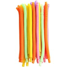 Be Lighted Whistle Drinking Straws, Extra Long Flexible Straws, Music Plastic Straws, 20pcs
