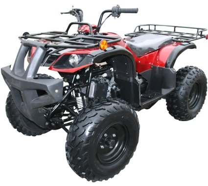 Price comparison product image Coolster Brand New 150cc Full Size Fully Automatic ATV Four Wheeler - ATV-3150DX2 - Electric Start - Foot Brake by SaferWholeSale