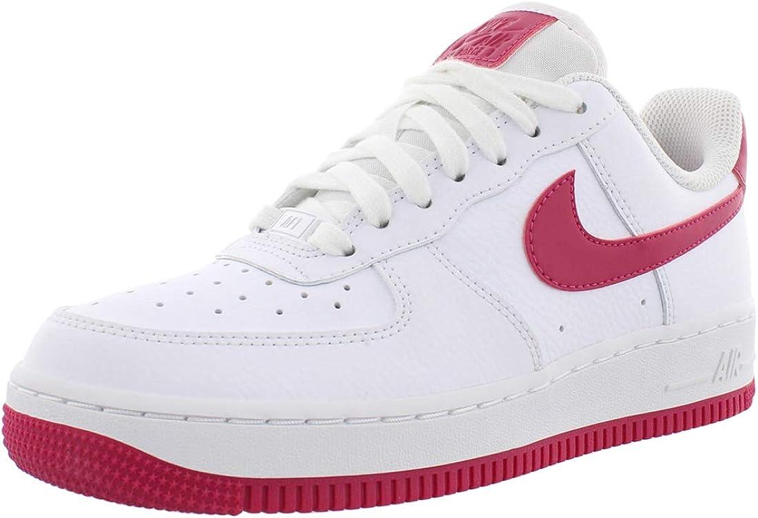 zapatos nike force mujer roja