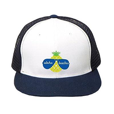 Hip Hop Snapbacks Black Aloha Beaches Embroidery Baseball Cap Street Hat