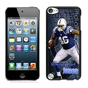 NFL&Indianapolis Colts Dominique Jones ipod Touch 5 phone cases&Gift Holiday&Christmas Gifts PHNK626492