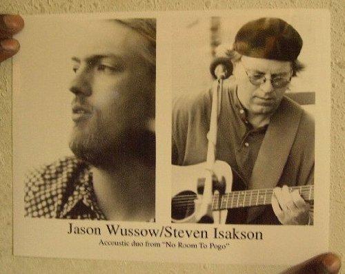 Jason Wussow And Steven Isakson Press Kit Photo No Room To Pogo (Pogo Photo)