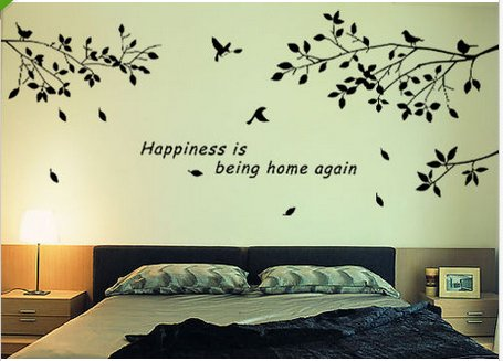 MECO(TM) DIY Bird Tree Branches Branches Wall Stickers Decal Removable Vinyl Decor Home