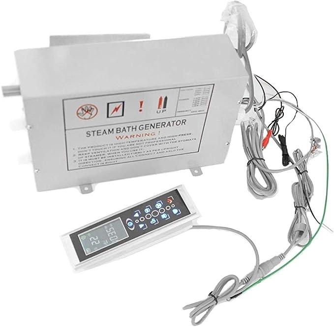 Generador de vapor vapor productores 2,8 kW Vapor ducha Vapor dispositivo LXW de MK de 008: Amazon.es: Bricolaje y herramientas