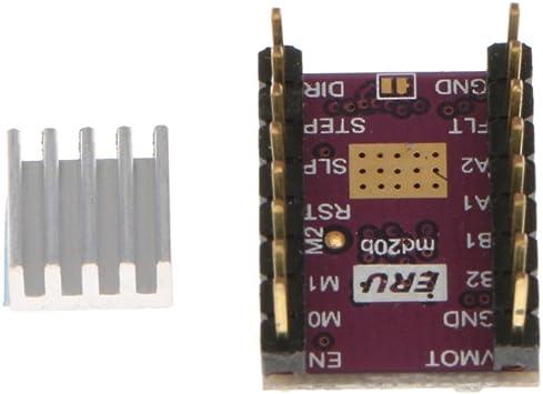 FLAMEER Impresora 3D DRV8825 4-Layer StepStick Stepper Motor ...