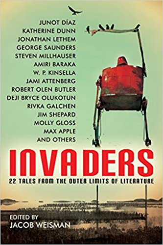 invaders 22 tales from the outer limits of literature w p