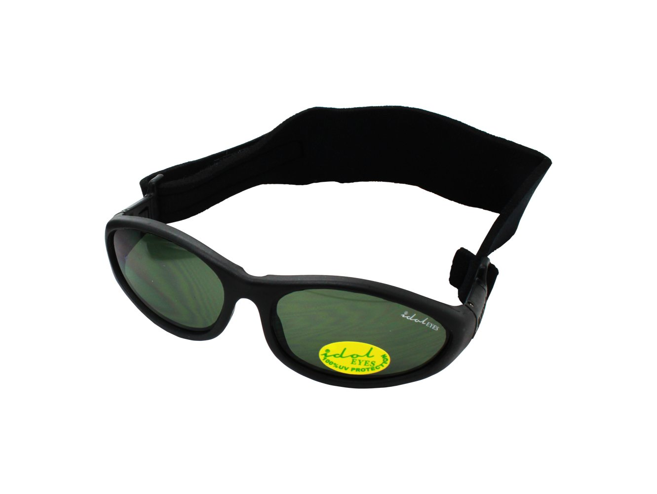 89b9f0136041 Baby Wrapz Sunglasses (Black)  Amazon.co.uk  Baby