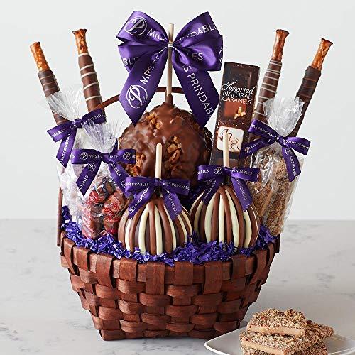 Mrs Prindables Grand Caramel Apple Gift Basket