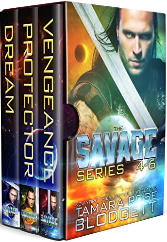 The Savage Series Boxed Set (Books 4-6): New Adult Dark Paranormal/Sci-fi Romance
