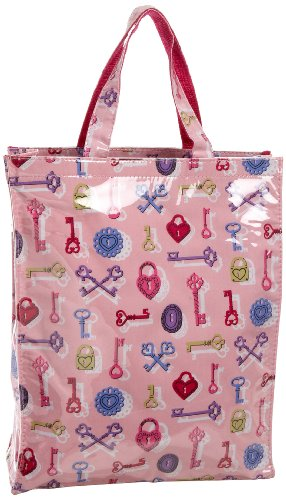 Nick and Nora Medium Tote,Key To My Heart,one size, Bags Central
