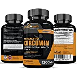 Cheap Turmeric Curcumin Supplement Maximum Strength – Anti-Inflammatory & Joint Pain Relief. Enhanced with Black Pepper for Better Absorption. All Natural, Non-GMO, Gluten Free Antioxidant Pills.