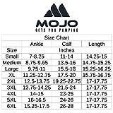 4XL Mojo Compression Socks 20-30 mmHg - Plus Size