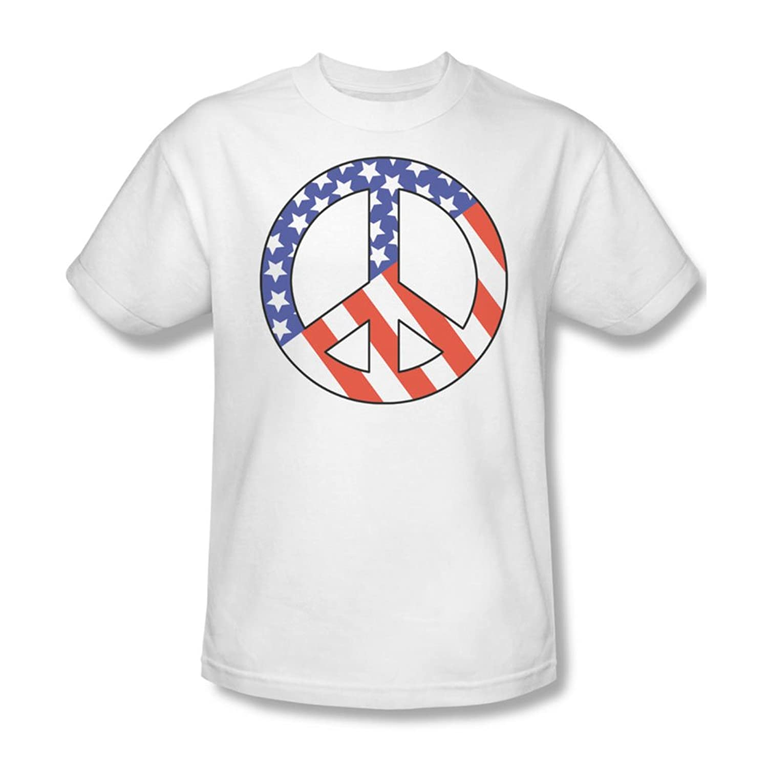 Patriot Peace - Mens T-Shirt In White