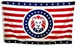 Donald Trump MAGA Lion Flag by MemeWerks - Make America Great Again Trump Flag - M A G A