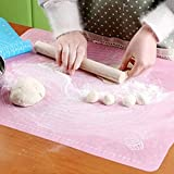 meizhouer 5040cm Silicone Mat Baking Cake Dough Fondant Rolling Kneading Mat Baking Mat With Scale Cooking Plate Table Grill Pad Tools