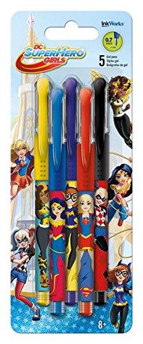 InkWorks Dc Super Hero Girls Colored Gel Pen