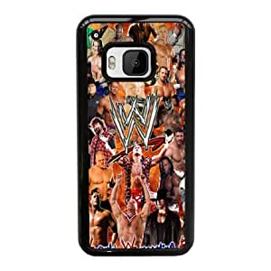 WWE For HTC One M9 Black Cell Phone Case Cover 14B8U1205214
