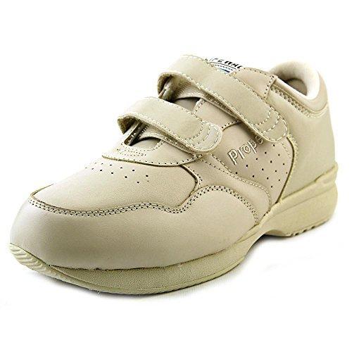 Propet Men's Life Walker Strap Medicare/HCPCS Code = A5500 Diabetic Shoe Sport White Sneaker 10.5 X - Shoe Walker Life