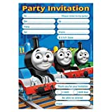 Amscan Invites & Envelopes - Thomas & Friends (One Size) (Blue)