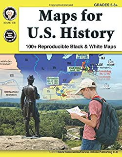 Maps For U S History Grades 5 8