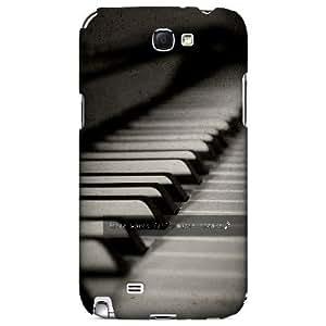 Music Speaks - Geeks Designer Line Music Series Hard Case for Samsung Galaxy Note 2