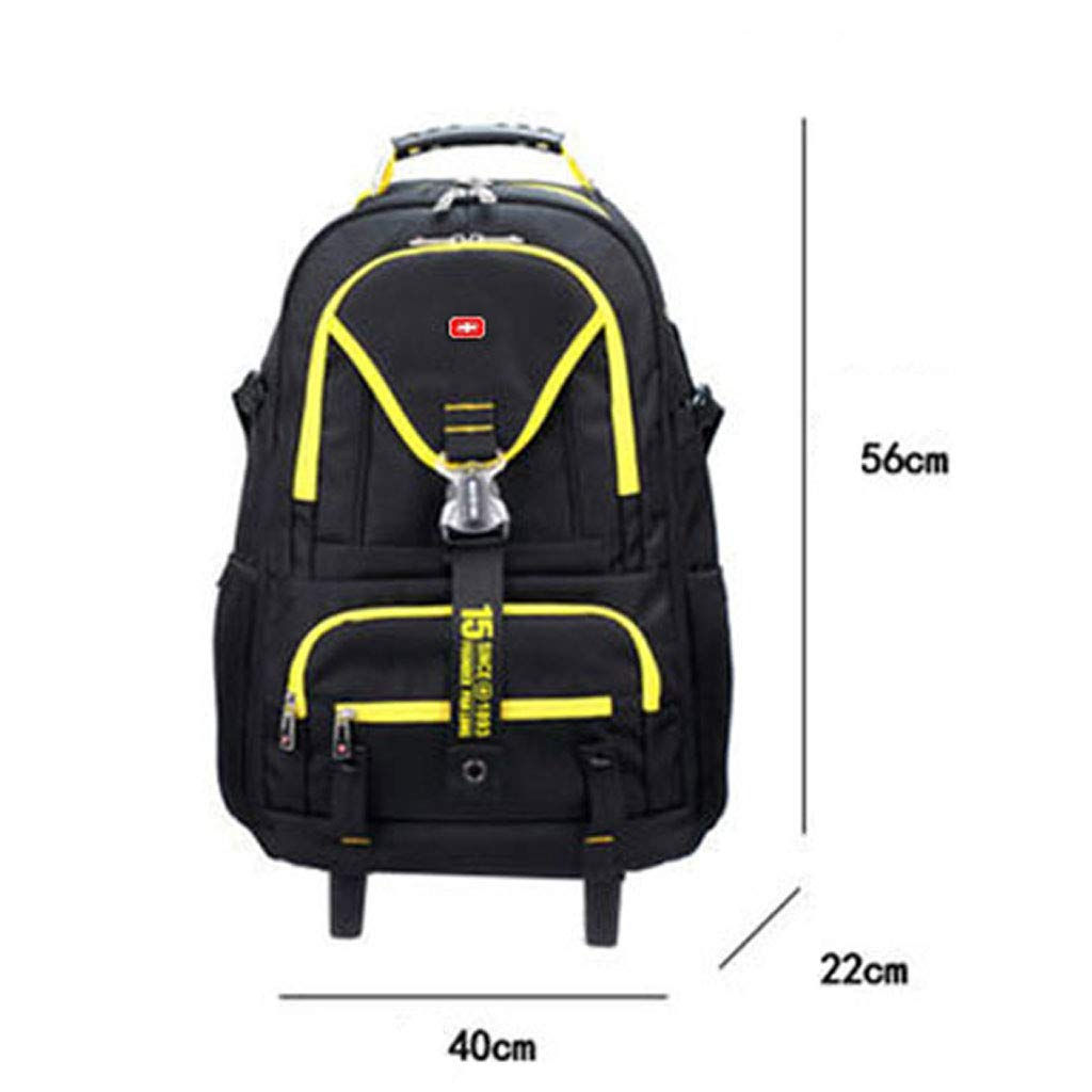 Amazon.com: STATEGY Business Roller Trolley Bag, Men and Women Travel Flight Approved Carrying Bag Travel Luggage Bag (Color : Yellow, Size : M): Sports & ...