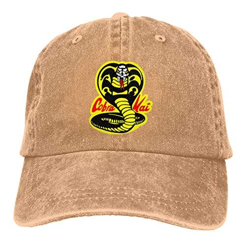 - COOLSHOPME Cobra Kai Baseball Cap Dad Hat 100% Cotton Soft Adjustable
