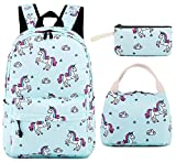 School Backpack for Girls Teens Bookbag Cute School Bag Set Water Resistant Travel Daypack