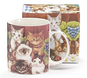 Los amantes de los gatos el vaso. Diseño de gatos Love café también!: Amazon.es: Hogar