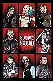 Suicide Squad(スーサイド・スクワッド) Grid ポスター [並行輸入品]