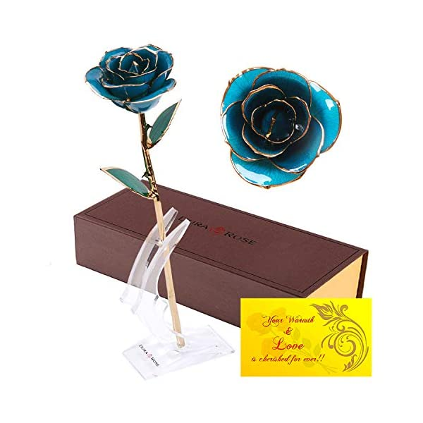 DuraRose-Authentic-Rose-with-Stand-and-Love-Card-Stem-Dipped-in-24k-Gold-Best-Gift-for-Loves-Ones-Ideal-for-Valentines-Day-Mothers-Day-Anniversary-Birthday