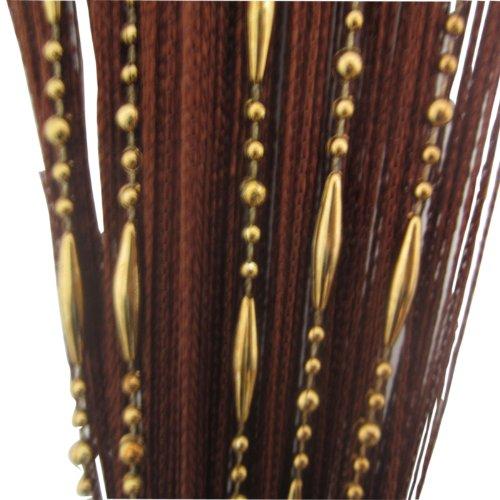 Tangpan Decorative Dew Drop Beadeds Door Curtain Divider ()