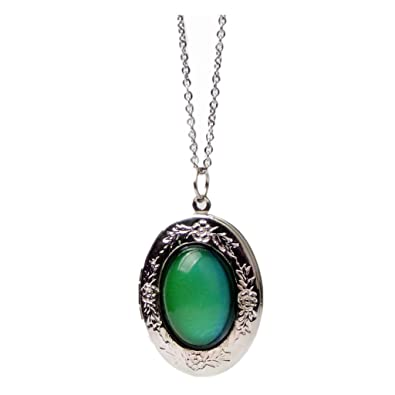 Buy phenovo womens vintage color change mood pendant necklace oval phenovo womens vintage color change mood pendant necklace oval stone fashion jewelry aloadofball Gallery