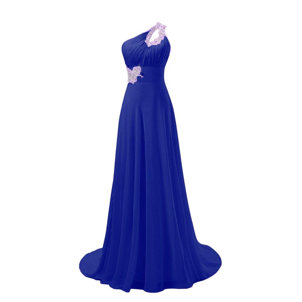 FASHION PLAZA mit einem eleganten Schulterträger festlich Abendkleid ...