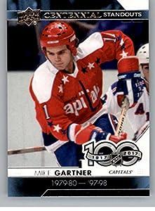 2017-18 Upper Deck Centennial Standouts #CS-80 Mike Gartner Capitals