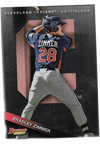 2015 Bowman's Best Top Prospects #TP-41 Bradley Zimmer Indians
