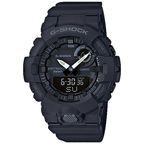 Casio G-Shock GBA800-1A Super Illuminator Bluetooth Step Tracker Black (Casio G-shock Illuminator)